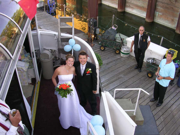 Cruise photo wedding