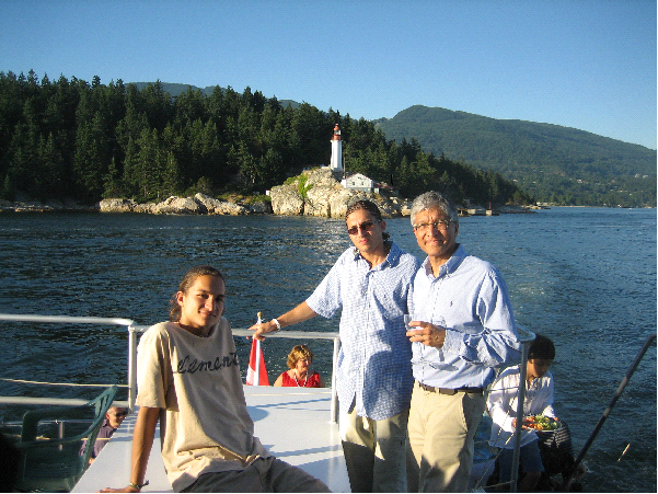 Vancouver Charter Special Fathers Day Cruise